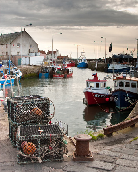Pittenweem Fife Landscape photography course in Fife